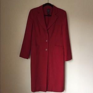 INC red blazer coat